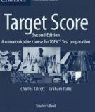 Target Score Teacher's Book: A Communicative Course for TOEIC® Test Preparation