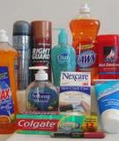 The Ubiquitous Triclosan A common antibacterial agent exposed