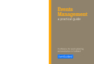 Events Management a practical guide - A reference for event planning and production in Scotland