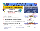 """Studying the """"Underlying Event"""" at CDF"""