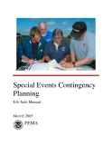 Special Events Contingency  Planning Job Aids Manual
