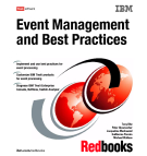 Event Management  and Best Practices Best Practices
