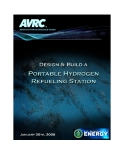 DESIGN & BUILD A PORTABLE HYDROGEN REFUELING STATION