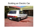 Building an Electric Car