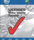 REGULATION OF MOTOR VEHICLE REPAIRS