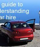 Your guide to understanding car hire