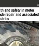 Safety during tyre inflation in  motor vehicle repair