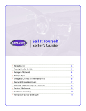 Sell It Yourself Seller's Guide