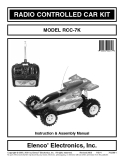 RADIO CONTROLLED CAR KIT MODEL RCC-7K