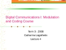 Digital Communication I: Modulation and Coding Course-Lecture 4
