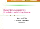 Digital Communication I: Modulation and Coding Course-Lecture 2