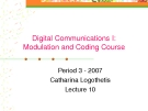 Digital Communication I: Modulation and Coding Course-Lecture 10