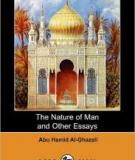The Nature Of Man And Other Essays (dodo Press) By Abu Hamid Al Ghazali, Syed Nawab Ali