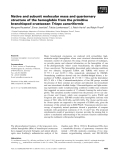 Báo cáo khoa học: Native and subunit molecular mass and quarternary structure of the hemoglobin from the primitive branchiopod crustacean Triops cancriformis