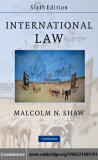 INTERNATIONAL LAW Sixth edition