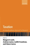 Taxation: An Interdisciplinary  Approach to Research