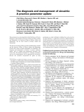 The diagnosis and management of sinusitis: A practice parameter update