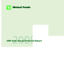 2009 SEMI-ANNUAL FINANCIAL REPORT