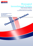 Managed Investment Funds Product Disclosure Statement - A range of funds that allows you tocreatean  investment portfolio thatsuitsyour individual needs