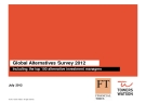 GLOBAL ALTERNATIVES SURVEY 2012 INCLUDING THE TOP 100 ALTERNATIVE INVESTMENT MANAGERS