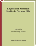 English and American Studies in German 2006
