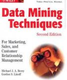 Data mining techniques for customer relationship management