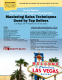 Mastering Sales Techniques   Used by Top Sellers