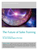 THE FURURE OF SALES TRAINING