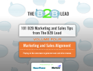 Tài liệu : 101 B2B Marketing and Sales Tips  from The B2B Lead