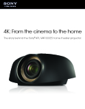 4K: From the cinema to the home