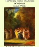 The Wit And Humor Of America Volume Ii By Various, Marshall P. Wilder