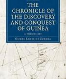 The Chronicle of the Discovery and Conquest of Guinea Vol. I