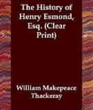 William Makepeace Thackeray - The History of Henry Esmond