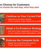 Oracle Database - the best choice for Siebel  Applications
