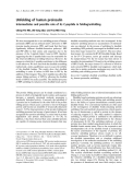 Báo cáo khoa học:  Unfolding of human proinsulin Intermediates and possible role of its C-peptide in folding/unfolding