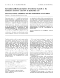 Báo cáo khóa học:  Generation and characterization of functional mutants in the translation initiation factor IF1 of Escherichia coli