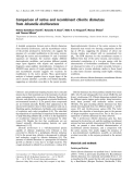 Báo cáo khóa học: Comparison of native and recombinant chlorite dismutase from Ideonella dechloratans