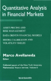 Quantitative Analysis in Financial Markets Collected papers of the New York University Mathematical Finance Seminar, Volume II