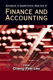 ADVANCES IN QUANTITATIVE ANALYSIS OF FINANCE AND ACCOUNTING Volume 5