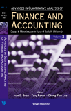 ADVANCES IN QUANTITATIVE ANALYSIS OF FINANCE AND ACCOUNTING Essays in Microstructure in Honor of David K. Whitcomb Volume 3