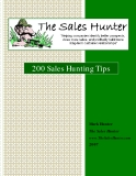 200 Sales Hunting Tips