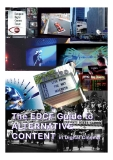THE EDCF GUIDE TO ALTERNATIVE CONTENT IN DIGITAL CINEMA