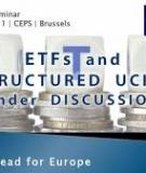 Market structures and  systemic risks of  exchange-traded funds