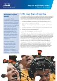 IN THIS ISSUE: SEGMENT REPORTING