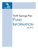 Thrift Savings Plan Fund  InFormatIon 2012