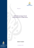 GCC Sovereign Fund Investments in Morocco