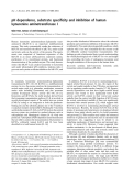 Báo cáo khoa học:  pH dependence, substrate specificity and inhibition of human kynurenine aminotransferase I