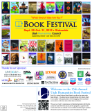FIFTEENTH ANNUAL UTAH HUMANITIES - BOOK FESTIVAL