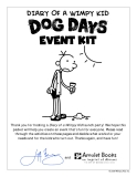 DIARY OF A WIMPY KID EVENT KIT