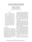 """Báo cáo khoa học: """"Character-Level Machine Translation Evaluation for Languages with Ambiguous Word Boundaries"""""""